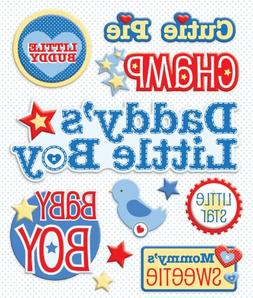 Life's Little Occasions Sticker Medley-Baby Boy Names