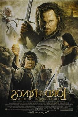 """Lord of the Rings Return of the King """"B"""" 11x17 Inch Promo Mo"""
