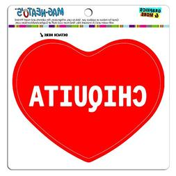 MAG-NEATO'S Car Refrigerator Vinyl Magnet I Love Heart Names