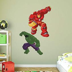 Fathead Peel and Stick Decals Marvel Avengers Assemble Kids