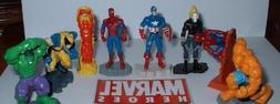 Marvel Avengers / Superhero Buildable Figure Set with the Hu