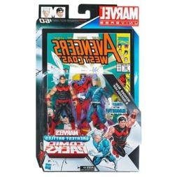 Marvel Universe Wonder Man and Quicksilver Figure Comic Pack