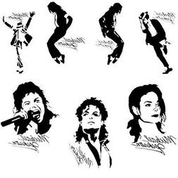 Michael Jackson Vinyl Decal Stickers Music Car Window Wall D