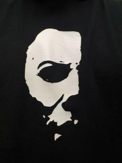 """Michael Myers Face 6"""" White VINYL Car Wall Decal Horror Movi"""