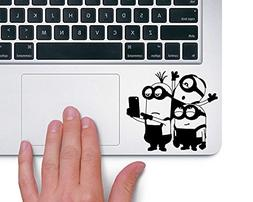 minions taking selfie macbook laptop