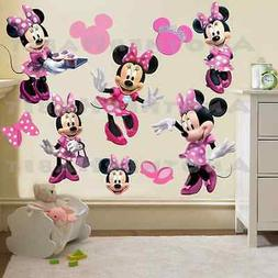 Minnie Mouse Clubhouse Room Decor -  Wall Decal Removable St
