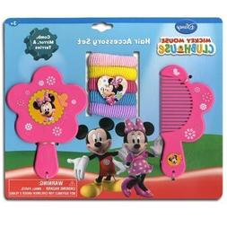 Minnie Mouse Comb Mirror Hair Ponies