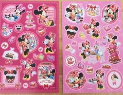 Disney Minnie Mouse Stickers 2 Sheets Free Shipping Sale
