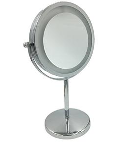 "6"" mirrors for wall Lighted Wall Makeup Mirror vanity mirror"