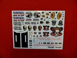 Model Car Parts AMT Dirty Donny's 1969 Plymouth GTX Decal Sh