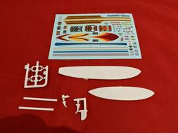 Model Car Parts AMT Surfboards Decals and Rack 1/25
