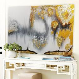 Orlco Art Modern Abstract Oil Painting Hand Painted Wall Art