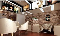 Modern 21 Inch By 394 Inch Stone Texture Pvc Waterproof Bric