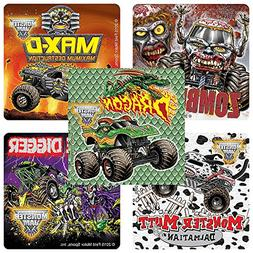 Monster Jam Fan Favorites Stickers - Prizes and Giveaways -