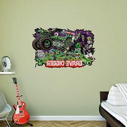 Monster Jam Grave Digger Twisted Metal Realbig