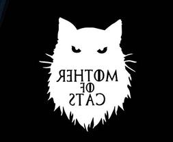 Mother of Cats Funny Game of Thrones Decal Vinyl Sticker|Car