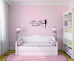 Design with Vinyl Moti 2532 1 Decal Wall Sticker : Dance Is