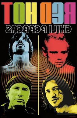 Red Hot Chili Peppers  Music Poster Print