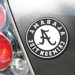 NCAA Alabama Crimson Tide Premium Metal Auto Emblem