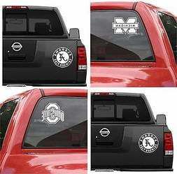 NCAA College Vinyl Decal Car Truck Window Sticker Graphic Te