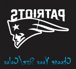 New England Patriots Football Vinyl Decal Sticker for NFL Ca