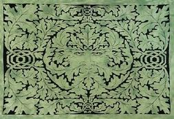 New Green Man Celtic Knot Large Tapestry Wall Hanging Bedspr
