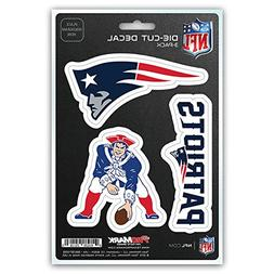 New NFL New England Patriots Team ProMark Die-Cut Decal Stic