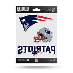 Rico NFL New England Patriots Die Cut 3-Piece Triple Spirit