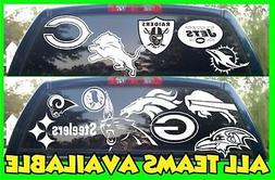 NFL Football Vinyl DECAL Car Truck Window STICKER Graphic Al