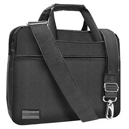 "NineO 10"" Nylon Padded College Messenger Bag Satchel  for Sa"