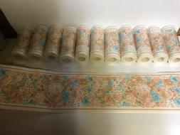 "ONE ROLL WALLPAPER BORDER 5 1/8"" X 5 YARDS PREPASTED  #K"