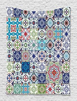 Patchwork Decor Theme Mosaic Ceramic View Moroccan Tile Trad