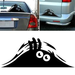 Peeking Monster Funny Scary Eyes Decal Sticker for Car Walls