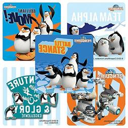 Penguins of Madagascar Stickers - Birthday and Theme Party F