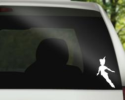 Peter Pan Decal Vinyl Sticker for Car, Wall or Laptop