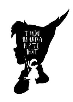 Peter Pan Disney Decal Car Window Vinyl Decal laptop