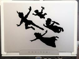 "Peter Pan Kids 6""Black Car Truck Vinyl Decal Art Wall Sticke"