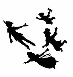 Peter Pan Kids Car Truck Vinyl Decal Art Wall Sticker USA Cl