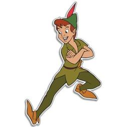 Peter Pan Magic kids Vynil Car Sticker Decal - Select Size