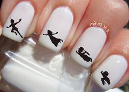 peter pan nail art stickers transfers decals