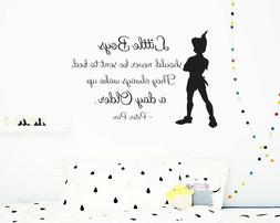 Peter Pan Wall Decal, Peter Pan Sticker, Disney Decal, Nurse
