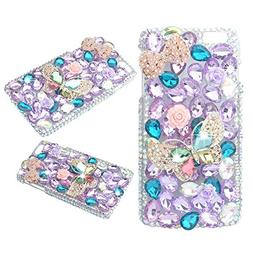KAKA Phone Case for iPod, iPod Touch 6 3D Rhinestone Crystal