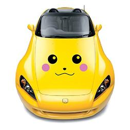 "Pikachu Car Decal, 12"" H x 25"" W, Die Cut Vinyl Decal For Wi"