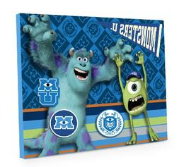 Disney Pixar Monsters University Magnetic Memo Board