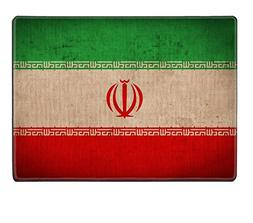 Luxlady Placemat IMAGE ID 31371074 Iran flag pattern on the
