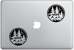 Pnw Pacific Northwest LeporeDecals1098 Set Of Two  , Decal ,