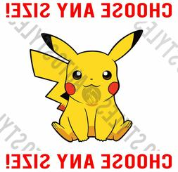Pokemon Pikachu Pokemon Go JDM - Wall Vinyl Decal Car Window