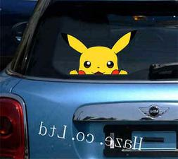 Pokemon Pikachu Window Car Decal Sticker Home Decor Vinyl St