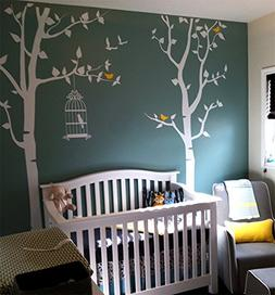 PopDecors - Nursery Tree with Personalized Kid's Name Custom
