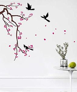 PopDecors Wall Decals & Stickers - Cherry Blossom Branch  -
